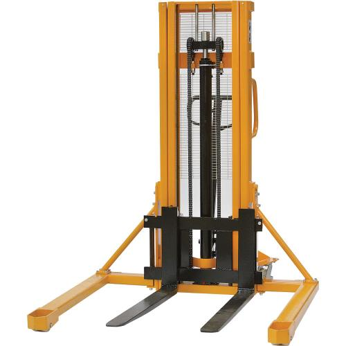 Hydraulic Straddle Pallet Stacker Truck